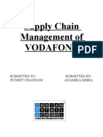 Supply Chain Magmt of Vodafone
