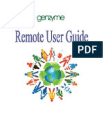 Remote User Guide