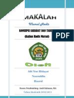 Konsepsi Sahabat Dan Tabi'in (Kajian Hadis Mursal) PDF