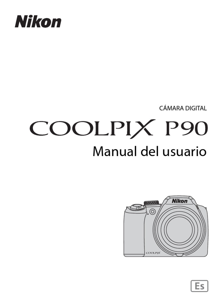 Manual Nikon Coolpix P90 Es