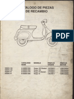 Manual Despiece Vespa Fl