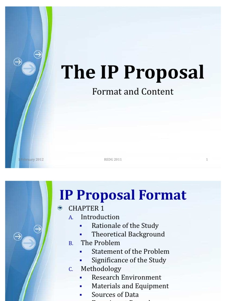 Ipproposal format and content altavistaventures Images