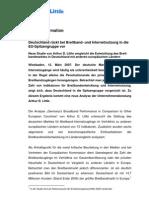 ADL Breitbandentwicklung Press Release