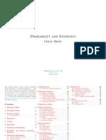 Probability and Statistics Cheat Sheet by Matthias Vallentin
