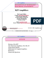 BJT Amplifiers