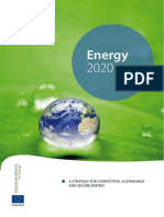 ENERGY 2020; A Strategy for competitive, sustainable and secure energy.