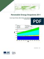 Renewable Energy Snapshots 2011