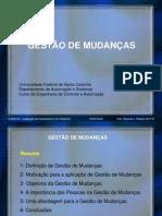 GESTÃO DE MUDANÇA