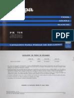 Manual Despiece Vespa Junior