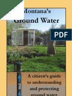Montana's Ground Water