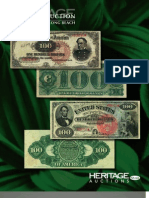 Heritage Auctions Currency Auction Catalog 3515 Long Beach, CA January 31 - February 3, 2012