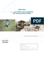 White Paper Reseau Cisco Platforme Des Communications Unifiees