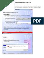 Instalacion Oracle 10g