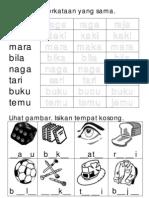 Latihan Sukukata KVKV