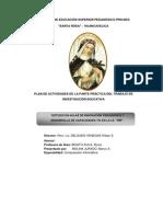 Plan de Tesis Santa Rosa Miriam