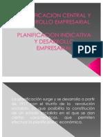 Planeficacion Central y Desarrollo rial
