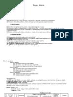 Proiect didactic lecţie de probă