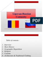 Russian Comunity in Romania