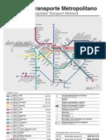 mapa do metrô de sp