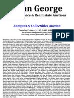 Feb 14th Auction