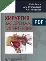 Белов Ю.В. Хирургия вазоренальной гипертензии (2007)