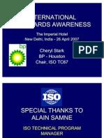 02 International Standards Awareness