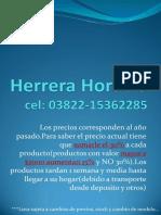 Lista Precios-Horacio Herrera-03822 15362285