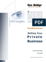 Selling a Private Business