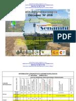 3er Decadal Enero 2012-Chaco-Bermejo, Camiri, Villa Montes y Yacuiba