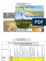 3er Decadal Enero 2012-Norte Integrado-Santa Cruz, Viru Viru y Trompillo, A. de Guarayos, …, P. Suarez