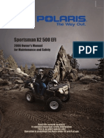 2006 Sportsman X2 - 2006 Owners Manual