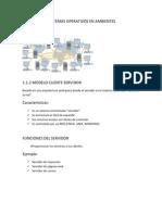 Unidad 1 Los Sistemas Operativos en Ambientes Distribuidos