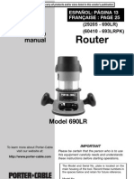 Porter Cable Router 690LR