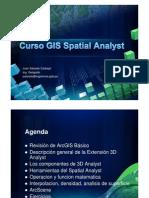 Curso Spatial Analyst