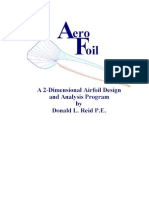 Aero Foil Users Instructions