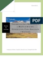 Fundamentos Fisico-Geograficos Atacama