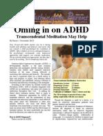2005_10_Washington Parent & ADHD