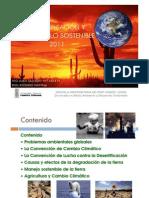 Desertificacion y Desarrollo Sostenible