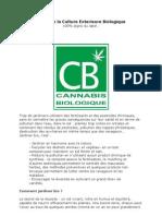 Guide de La Culture Exterieure Biologique