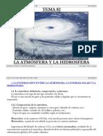 02 La Atmosfera y La Hidrosfera