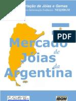 Argentina Estudo Mercado Joias