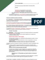 Convocatoria de Pruebas de Acceso Para 2009