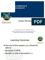 ARMPD 03 Career Planning and CV
