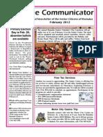 Communicator Senior Newsletter - February 2012