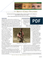 THE FACTS ABOUT CHILD SOLDIERS