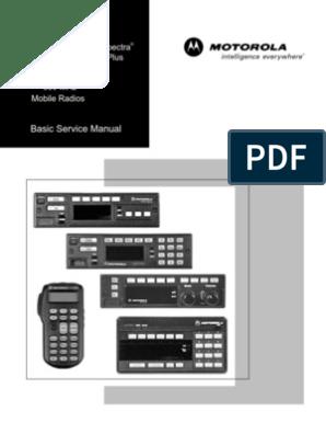 Basic Service Manual - Astro Spectra Plus | Copyright