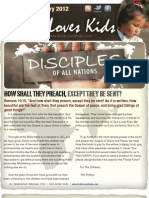 God Loves Kids February Newsletter 2012