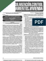 ley para la regularización y control de los arrendamientos de vivienda 2011