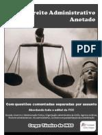 Direito Administrativo Anotado InSS FCC