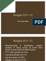 BUDGET 2011 -12